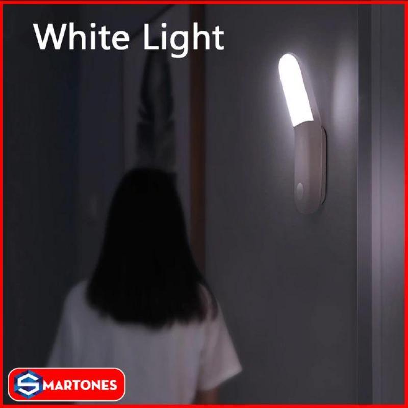 Đèn thông minh Baseus Sunshine Series thiết kế hình bán nguyệt giúp chiếu sáng rộng  tích hợp cảm biến chuyển động và ánh sáng giúp bật tắt đèn tự động, pin 500mAh tiết kiệm điện năng