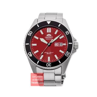 Đồng hồ nam dây thép Orient RAY 2020 Kano RA-AA0915R19B size 44mm chống nước 200m niềng xoay dạ quang máy automatic trữ cót 40 tiếng lên cót tay thumbnail