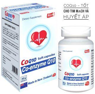 COQ10 Tốt Cho Tim Mạch Và Huyết ÁP thumbnail