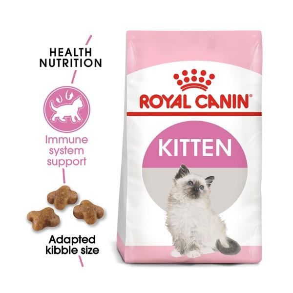 Thức ăn hạt cho mèo Royal Canin Kitten 36 - túi 2kg, sản phẩm tốt, chất lượng cao, cam kết như hình