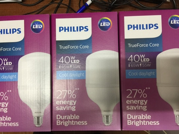 Led trụ Philips TForce Core HB MV ND 40W E27 865 Gen 3