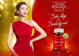 Thực phẩm bảo vệ sức khoẻ [SÂM ANGELA GOLD] - Hỗ trợ sắc đẹp và sinh lý nữ - Hộp 60 viên thumbnail