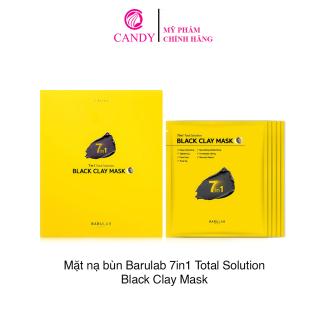 [HCM]Mặt Nạ Đất Sét BARULAB 7 in 1 Total Solution Black Clay Mask( Full hộp 5 miếng) thumbnail