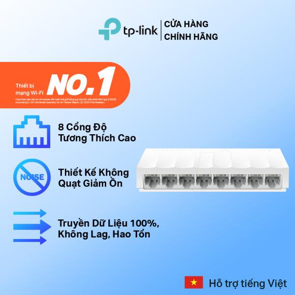 Bảng giá Bộ Chia Tín Hiệu TP-Link LS1008 Switch Để Bàn 8 cổng 10/100Mbps - Hãng phân phối chính thức Phong Vũ