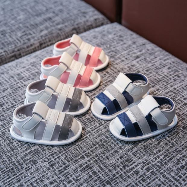 Dép giày đế mềm cho trẻ em tập đi-D09 giá rẻ