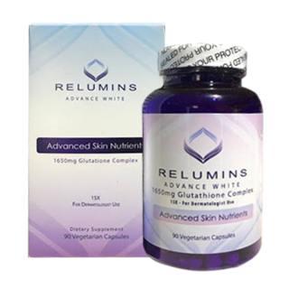 Viên uống trắng da Relumins Advance White 1650mg Glutathione Complex 90 viên của Mỹ thumbnail