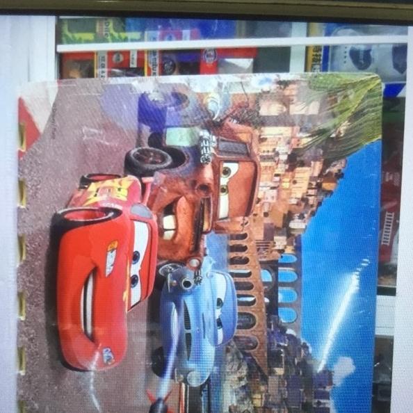 Hình ảnh thảm xốp ghép đội xe siêu đẳng hàng sịn