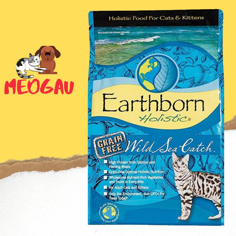 Thức ăn mèo Earthborn Holistic Wild Sea Catch 2kg