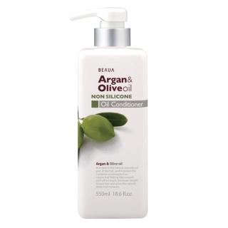 Dầu xả dưỡng tóc mềm mượt chiết xuất Argan và Olive oil 550ml (không silicon) thumbnail