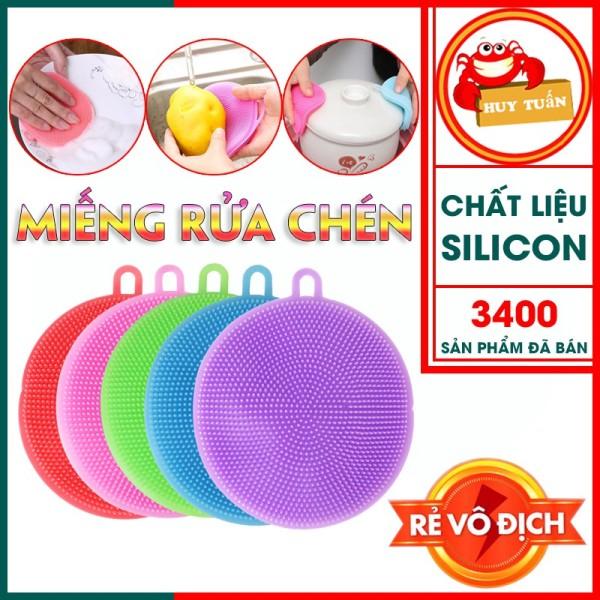 Miếng rửa chén - miếng rửa bát silicon đa năng (RBS01)