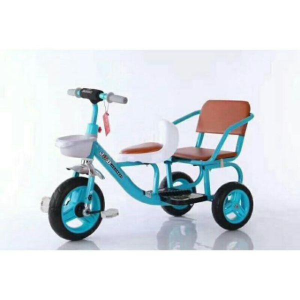 Giá bán xe đạp xích lô - yên da cao cấp cho bé xe 3 bánh cho bé 2-6 tuổi - xe chòi chân cho bé - xe xích lô - xích lô - chòi chấn - thăng bằng - xe đạp