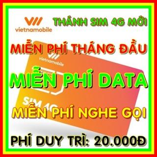 Thánh Sim 4G Vietnamobile Mới - Miễn phí DATA không giới hạn + Nghe Gọi Nội Mạng Miễn Phí - Phí gia hạn 20.000đ - Thánh sim 4G mới - Shop Sim Giá Rẻ thumbnail