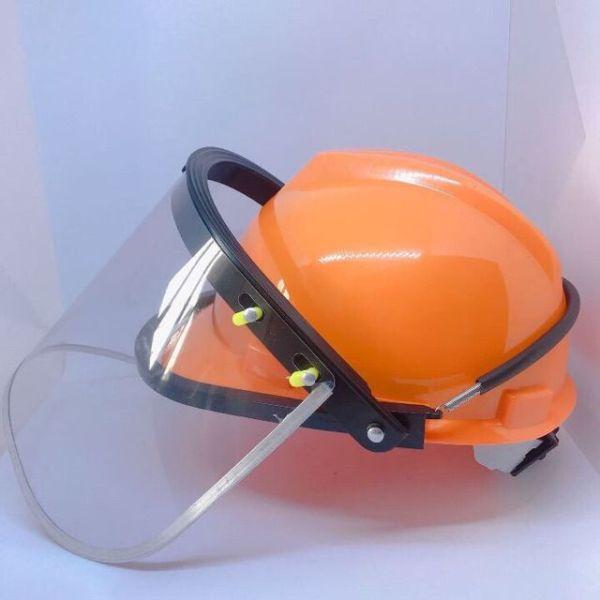 Mũ bảo hộ lao động Mũ bảo hộ cắt cỏ cưa gỗ