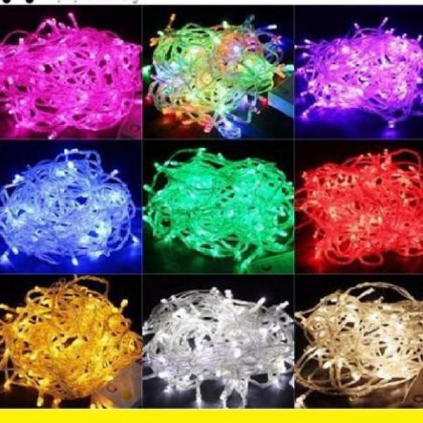 Đèn led dây chớp trang trí noel & tết 5m - đèn nháy 1 màu, thiết kế hiện đại, chất liệu bền bỉ, tiết kiệm điện năng, an toàn khi sử dụng