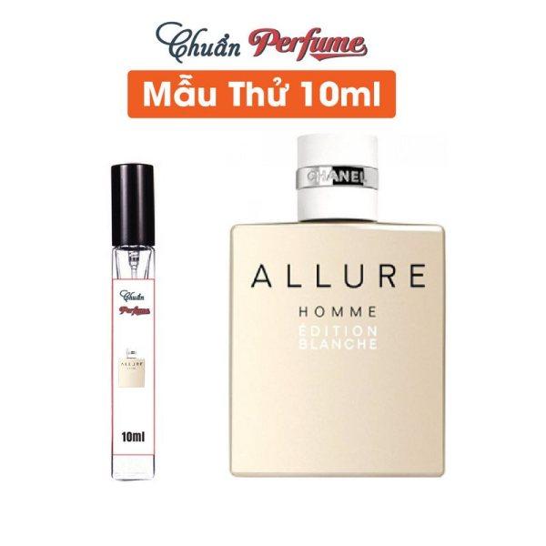 [Mẫu Thử 10ml] Nước Hoa Nam Chanel Allure Homme Edition Blanche EDP Chiết 10ml » Authentic Perfume