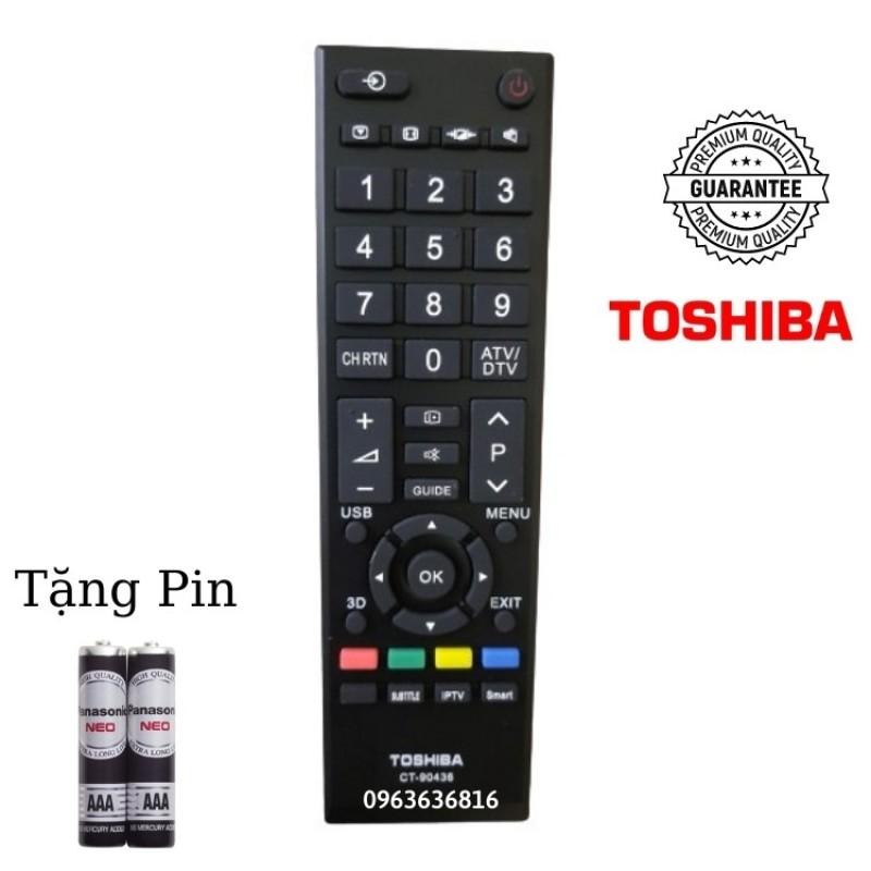 Bảng giá Điều khiển tivi Toshiba CT 90436 - CHÍNH HÃNG