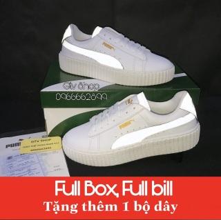 Tặng hộp, bill và Dây lụa - Giày thể thao nam nữ Puma loại đế vân răng cưa, size 36-39. 1