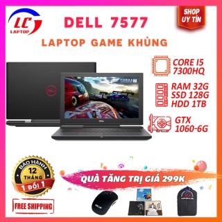 Laptop chơi mọi game maxseting cao cấp Dell 7577, i5-7300HQ, VGA GTX 1060, màn15.6 FHD IPS, LaptopLC298 thumbnail