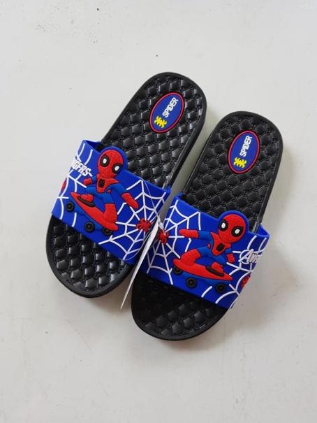 Dép Quai Ngang đế đúc dẻo mang êm chân xịn xò Cho Bé Trai (2 -12tuổi) Hình siêu nhân siêu yêu MD113 (Nhiều màu) giá rẻ