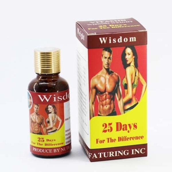 Vitamin Uống Hỗ Trợ Tăng Cân Wisdom Weight Hộp/25 Viên