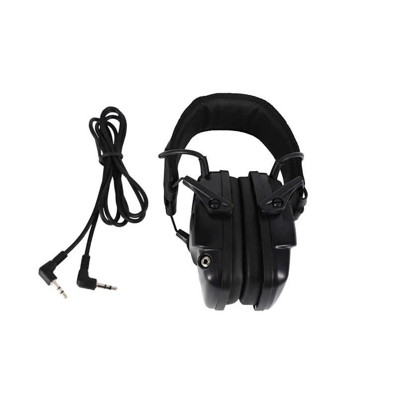 Electronic Hunting Ear Protection NRR22DB Sound Amplification Noise Reduction Ear Muffs Professional Hunting Ear Defender