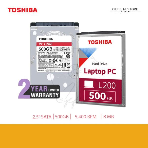 Bảng giá Ổ Cứng Gắn Trong Toshiba L200 500GB Laptop chính hãng Phong Vũ