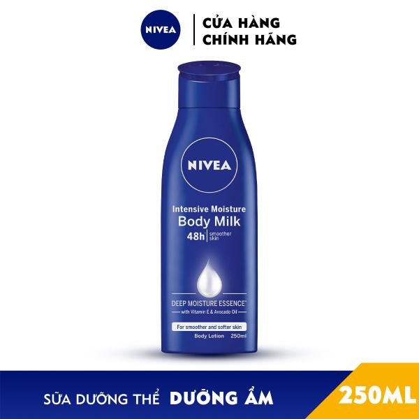 Sữa Dưỡng Thể NIVEA Dưỡng Ẩm Chuyên Sâu 250ml - 80201 nhập khẩu