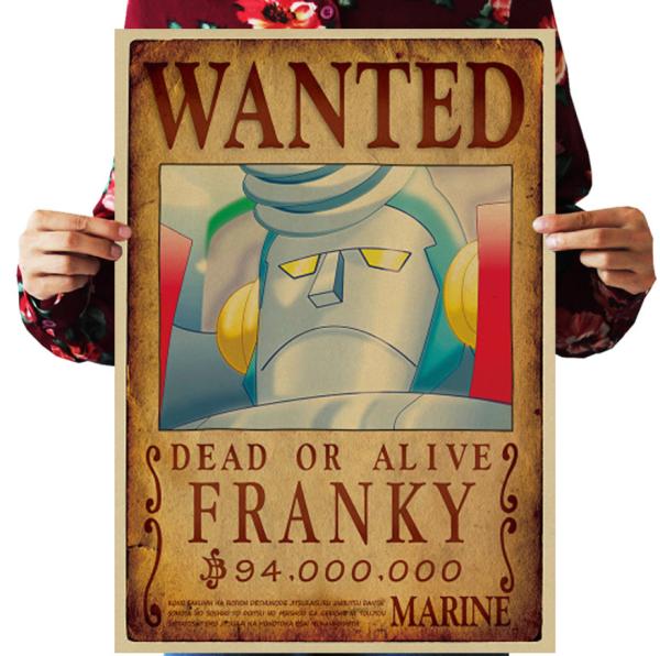 Mua Poster truy nã Monkey D. Dragon - One Piece
