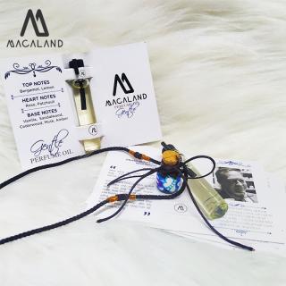 Vòng tay lưu hương nước hoa đậm đặc Advanced by MACALAND (sample - mẫu thử)