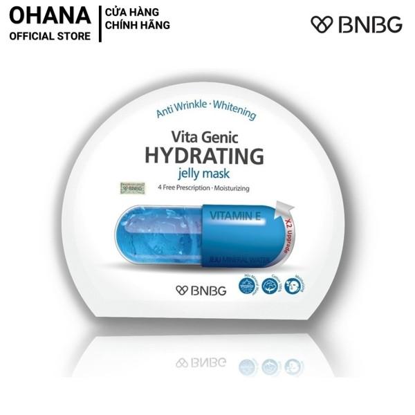 Mặt Nạ Giấy BNBG Hydrating Giúp Dưỡng Ẩm Da Mềm Mượt, Căng Bóng BNBG Vita Genic Hydrating Jelly Mask 30ml (Xanh Dương)