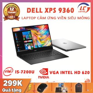 Laptop Mỏng Nhẹ Sang Chảnh Dell XPS 9360, i5-7200U, RAM 8G, SSD NVMe 256G, VGA Intel HD 620, Màn 13.3 FullHD IPS, Laptop Văn Phòng, Laptop Dell thumbnail