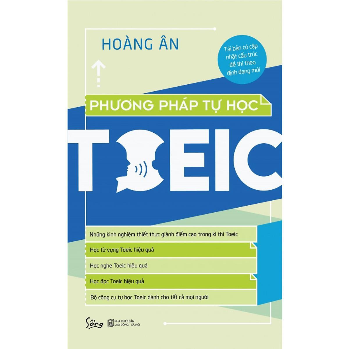 Sách Học Tiếng Anh - Phương Pháp Tự Học TOEIC (Tái Bản 2019) Giá Giảm