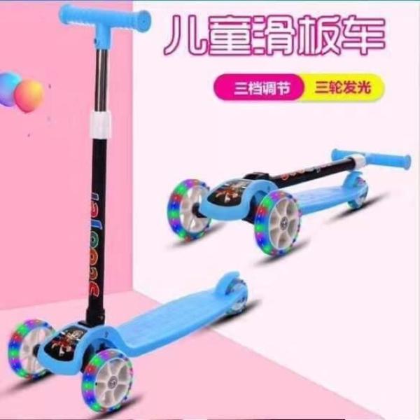 Giá bán xe trượt scooter có bánh xe phát sáng - xe cân bằng - xe lắc cho bé từ 2-8 tuổi chơi xe scooter  - xe trượt -     xe  scooter - xe trượt  scooter