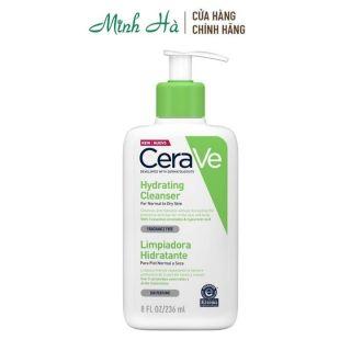 Sữa rửa mặt Cerave Hydrating Cleanser dịu nhẹ dành cho da thường và da khô thumbnail