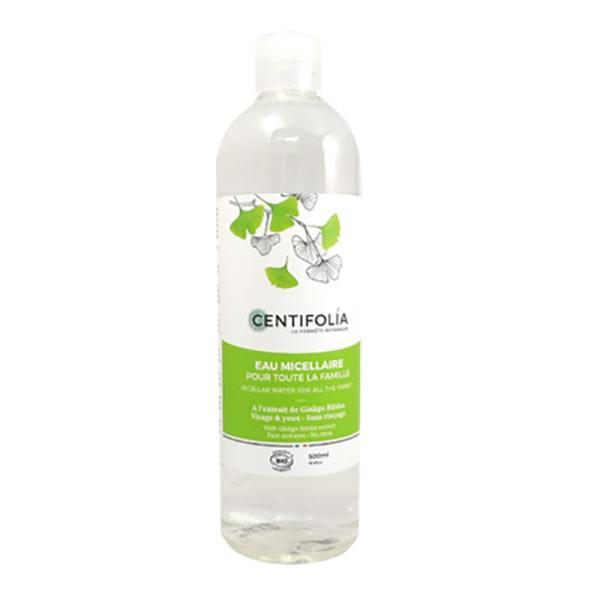 Nước tẩy trang rau má centifolia pháp 500ml cao cấp