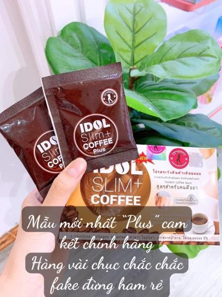 CÀ PHÊ IDOL SLIM COFFEE CÀ PHÊ GIẢM CÂN THÁI LAN CHÍNH HÃNG IDOL SLIM COFFEE 3 IN 1 cam kết chính hãng