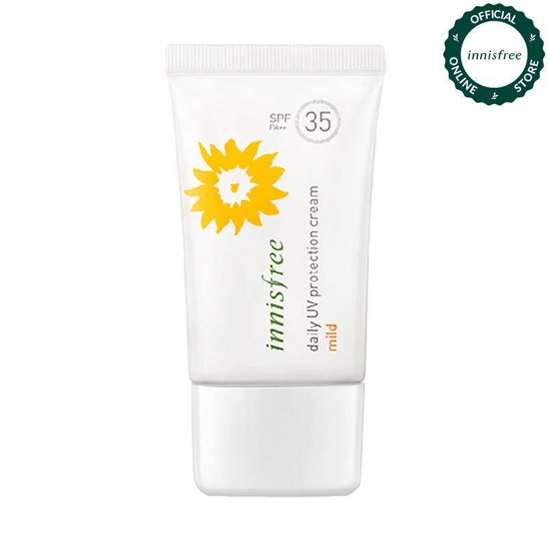 Kem chống nắng hàng ngày Innisfree Daily UV Protection Cream Mild SPF35 50ml