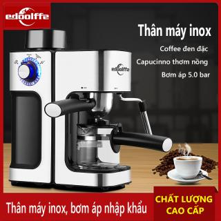Máy pha cà phê màu bạc hiệu Fxunshi 2006 inox không gỉ máy pha coffee capucinno latte Điện máy bé XANH thumbnail