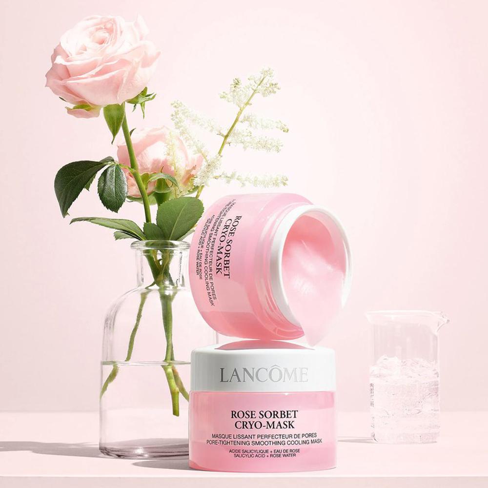 Mặt nạ cấp ẩm, dịu da & thu nhỏ lỗ chân lông Lancome Rose Sorbet Cryo-Mask 50ml
