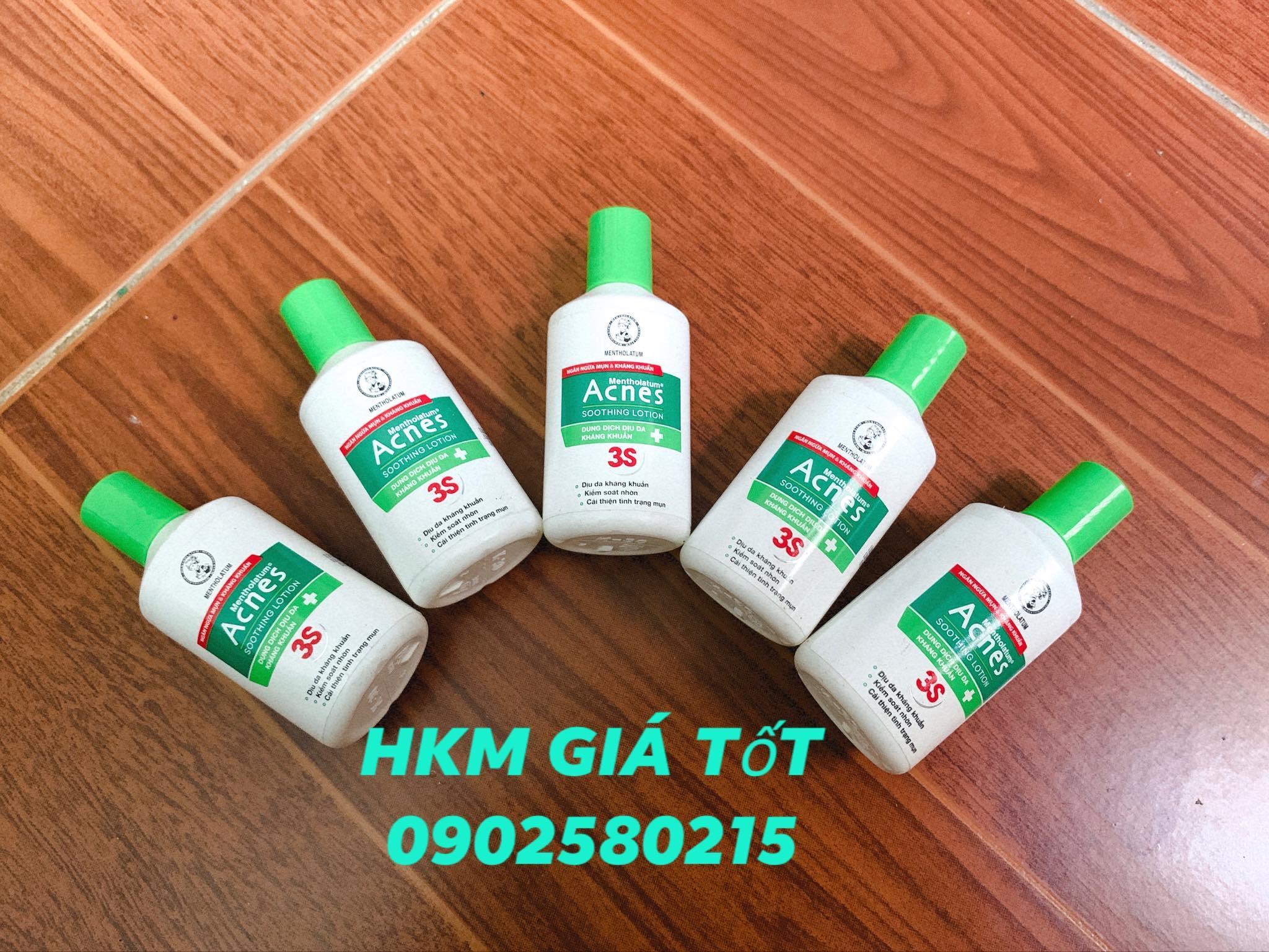 Combo 5 Chai Dung Dịch Dịu Da + Kháng Khuẩn ACNES 3S