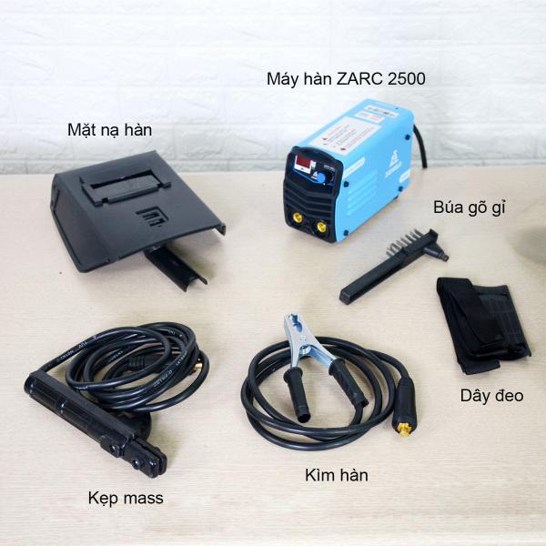Máy hàn mini Weldcom ZARC2500, dòng hàn 20-120A, hàn que 2.5 không giới hạn thời gian, bảo hành điện tử 12 tháng bởi Weldcom