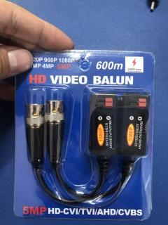 Giắc Video Balun AHD HDCVI HDTVI 5MP HÀNG TỐT thumbnail