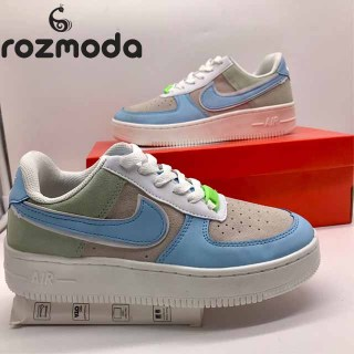 Giày Sneaker Air Force 1 Trắng AF1 Full Trắng ROZMODA GI17 thumbnail