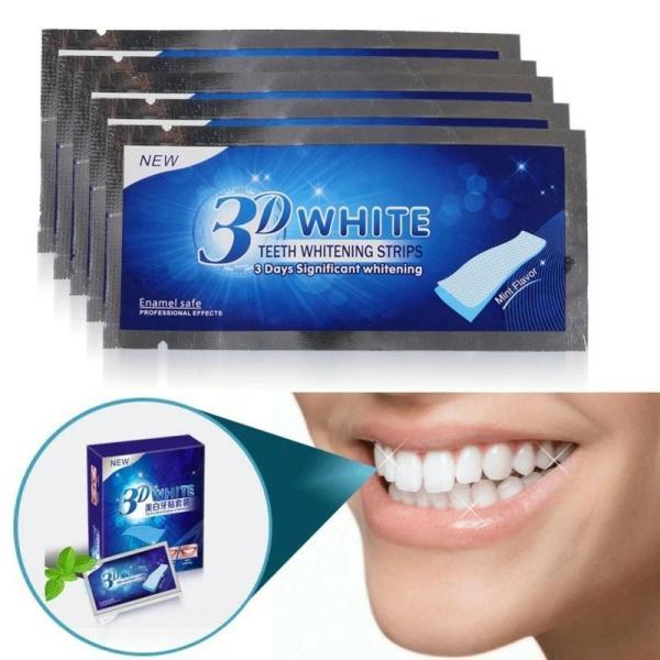 Miếng dán dưỡng trắng răng hiệu quả - Hộp 7 gói 14 miếng dán giá rẻ