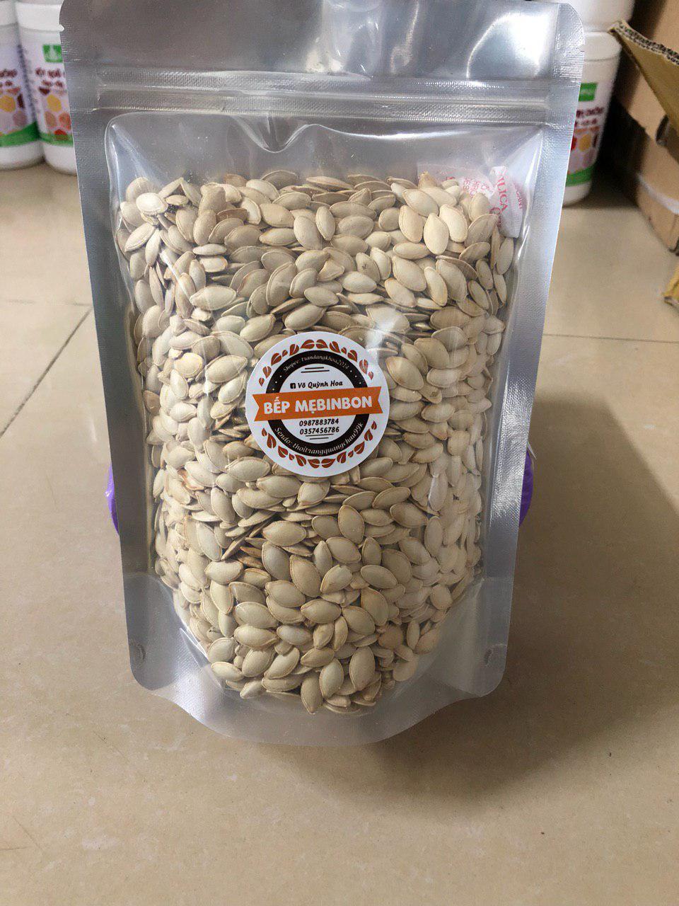 1kg hạt bí ta rang tay chắc mẩy thơm ngon
