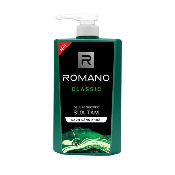 Sữa tắm Romano hương nước hoa sạch sảng khoái 650gr