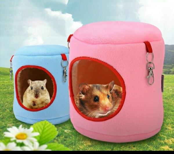 Nhà ngủ cho Hamster - túi ngủ vải
