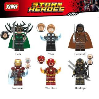 Đồ chơi lắp ráp Mini Figure nhân vật anh hùng Marvel thumbnail
