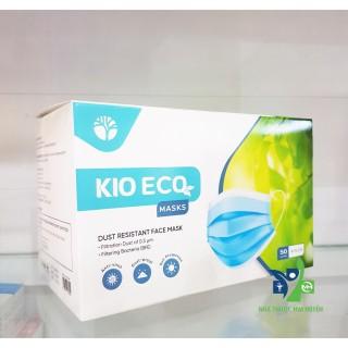 50 chiếc khẩu trang y tế 4 lớp Kio Eco có kháng khuẩn thumbnail