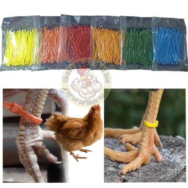 dây rút màu - làm dấu gà - 1 bịt / 100 sợi